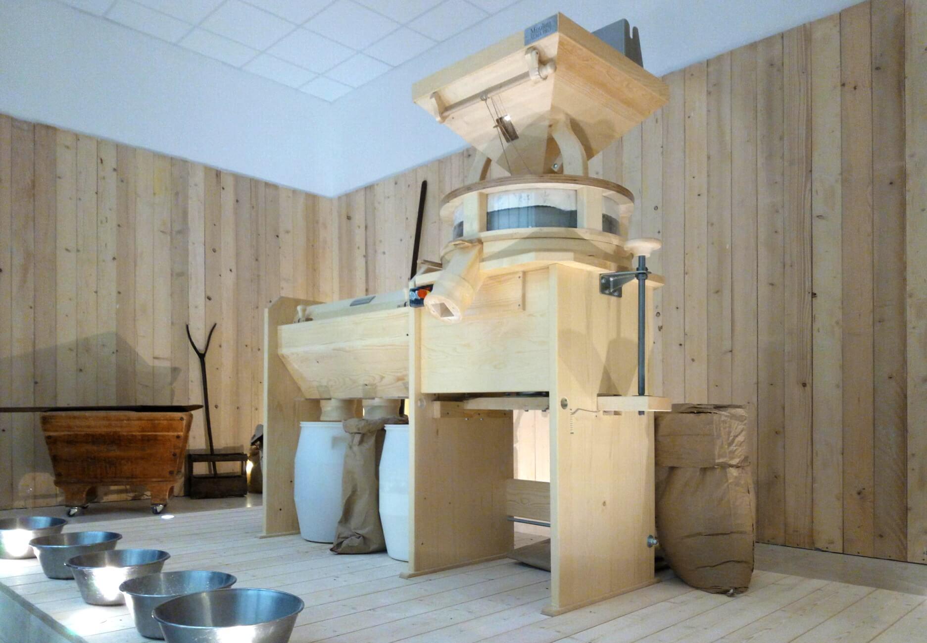Moulins à farine pour artisans meuniers