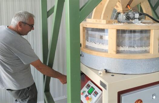 Formation à la conduite du moulin de notre client Hongrois