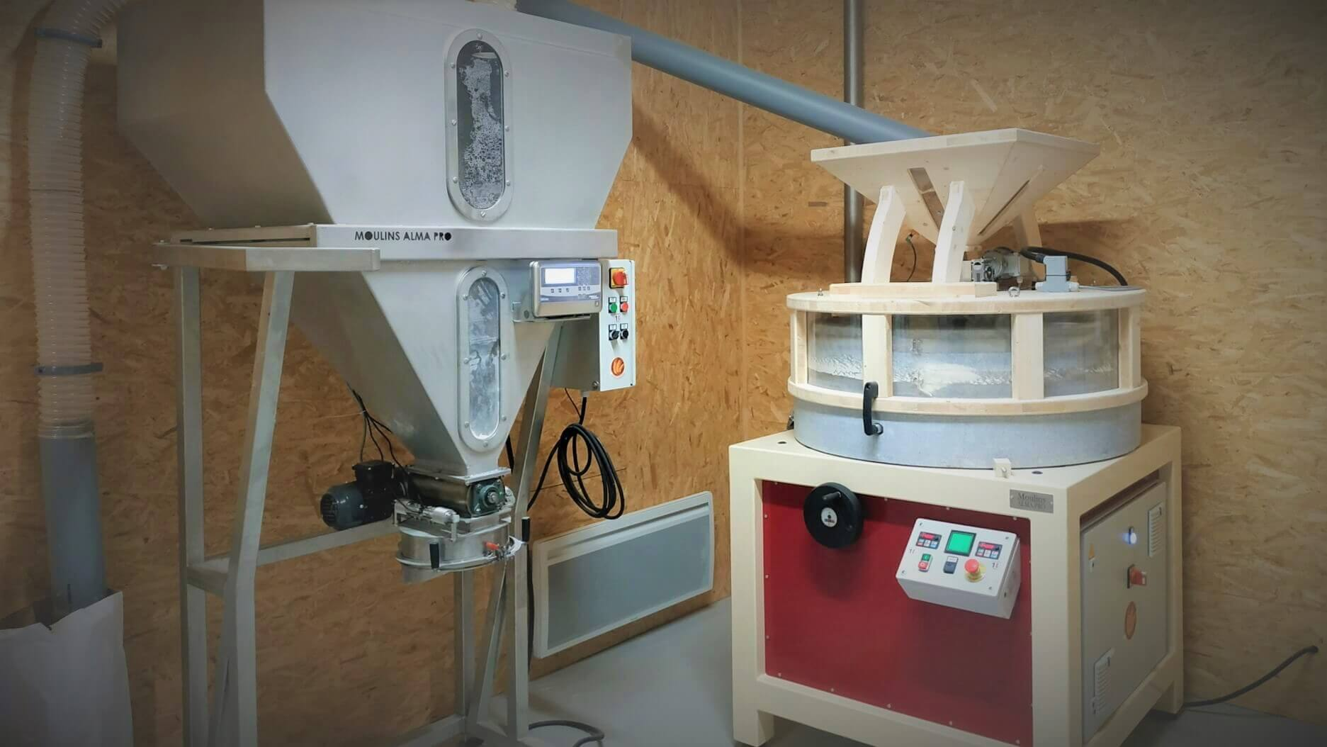 Installation meunerie autonome