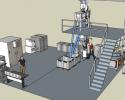 Clé en main > Installation d'un moulin à farine sur meules de pierre PRO100 avec atelier de production de pâtes