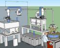 Etude d'implantation d'une meunerie autonome et ergonomique réalisée avec moulin à farine PRO100 en Belgique