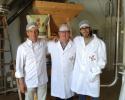 Formation à la conduite du moulin à farine sur meules de pierre à la meunerie Ylla en Espagne