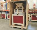 La caisse de transport pour le moulin à farine PRO100